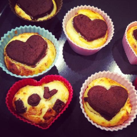 Kasekuchen Muffins Wir Machen Mundpropaganda Der Kuchenbacker