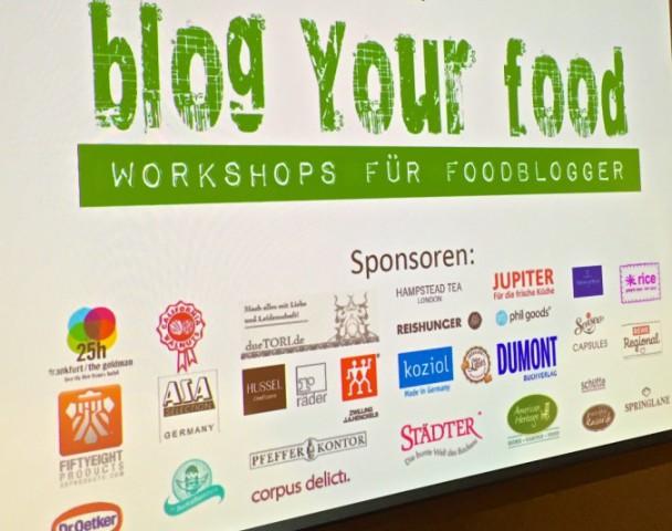 blogyourfood Chart
