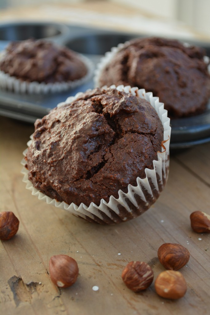 Low Carb Schoko Haselnuss Muffins 1