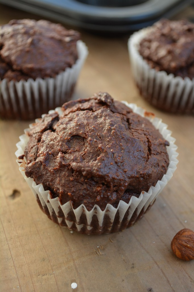 Low Carb Schoko Haselnuss Muffins 5