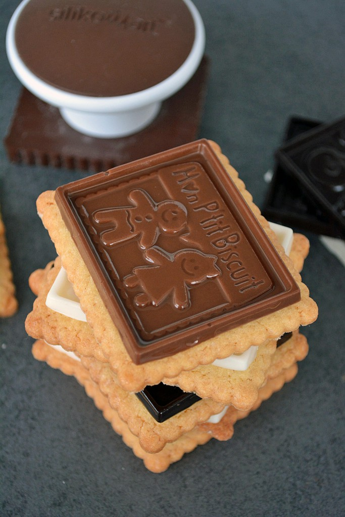 Teegebäck mit Schokoladenaufsatz 3-2