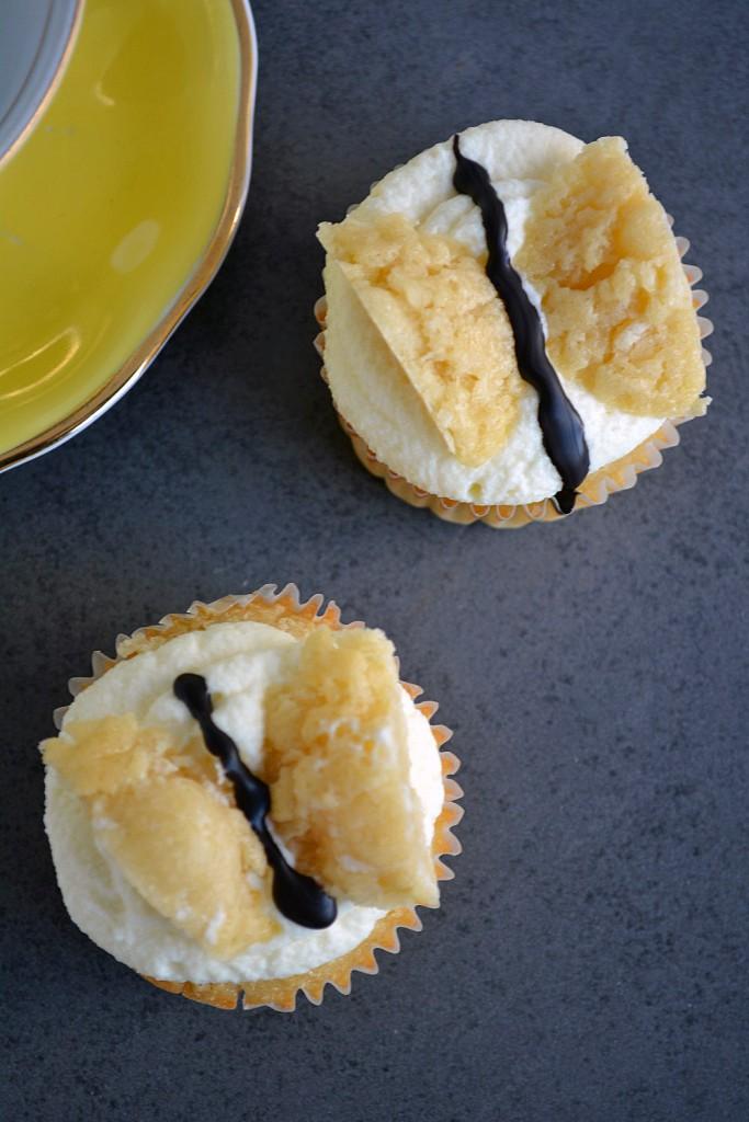 Vanille Schmetterlings Muffins 3