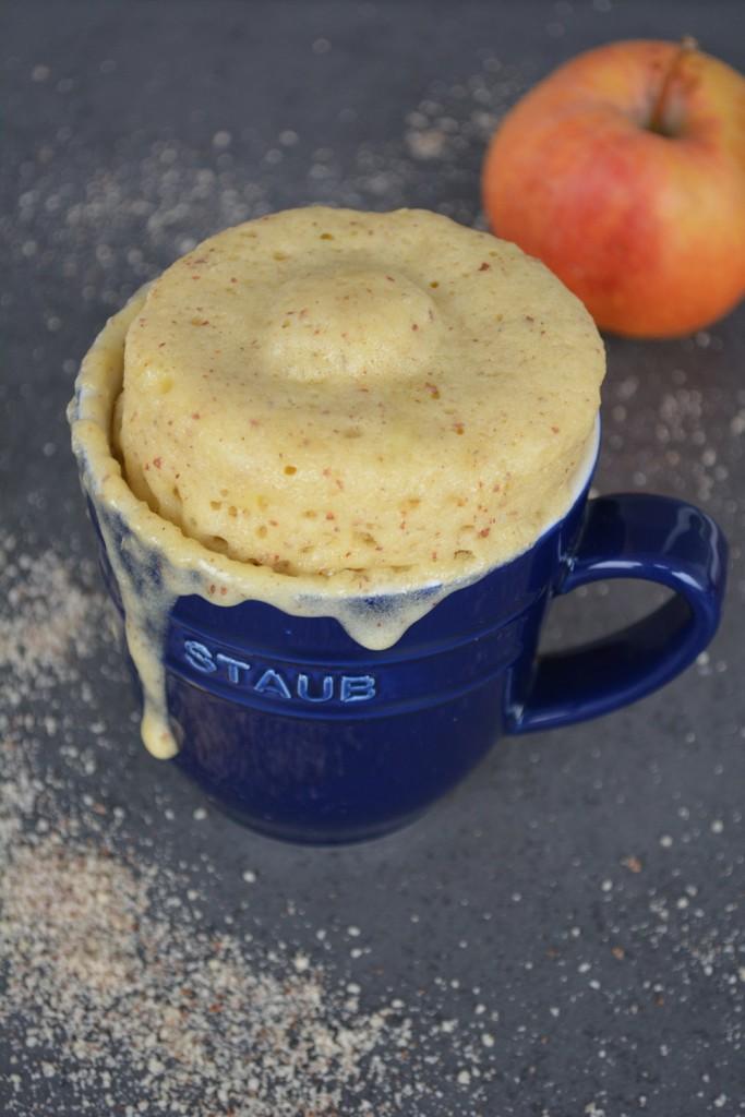 Amaretto Apfel Tassenkuchen 5