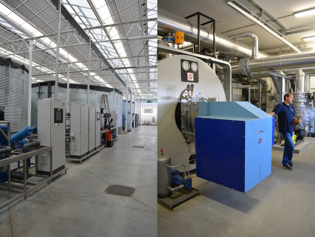Filteranlage - Geothermie-Anlage