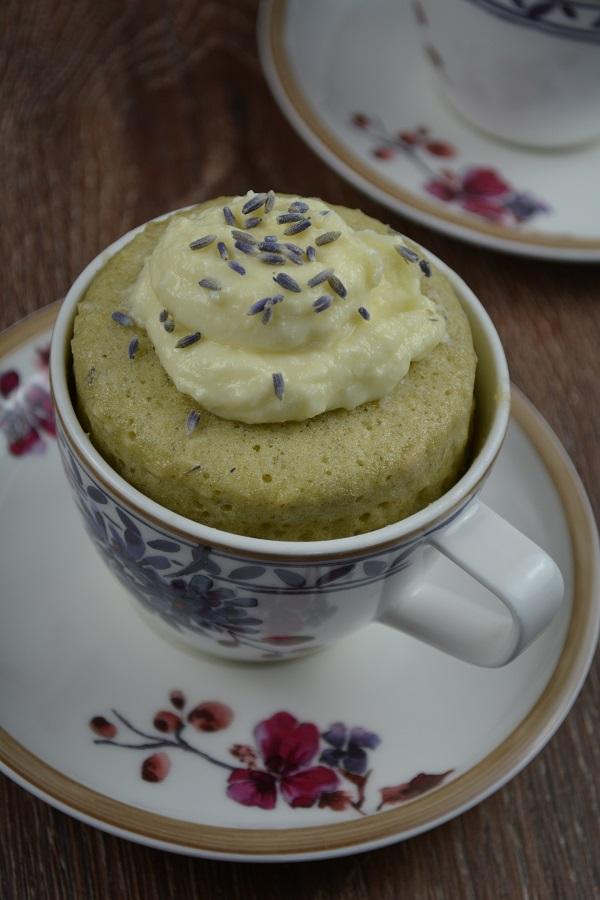 Lavendel Tassenkuchen 4