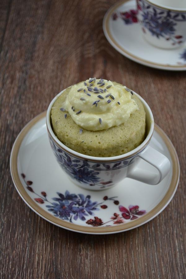 Lavendel Tassenkuchen1