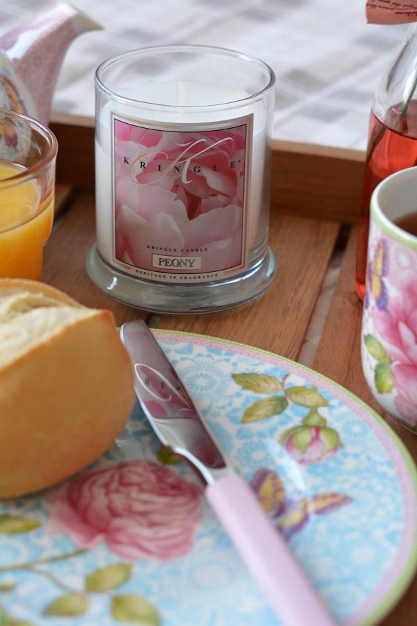 Frühstück im Bett Rose Cottage 7