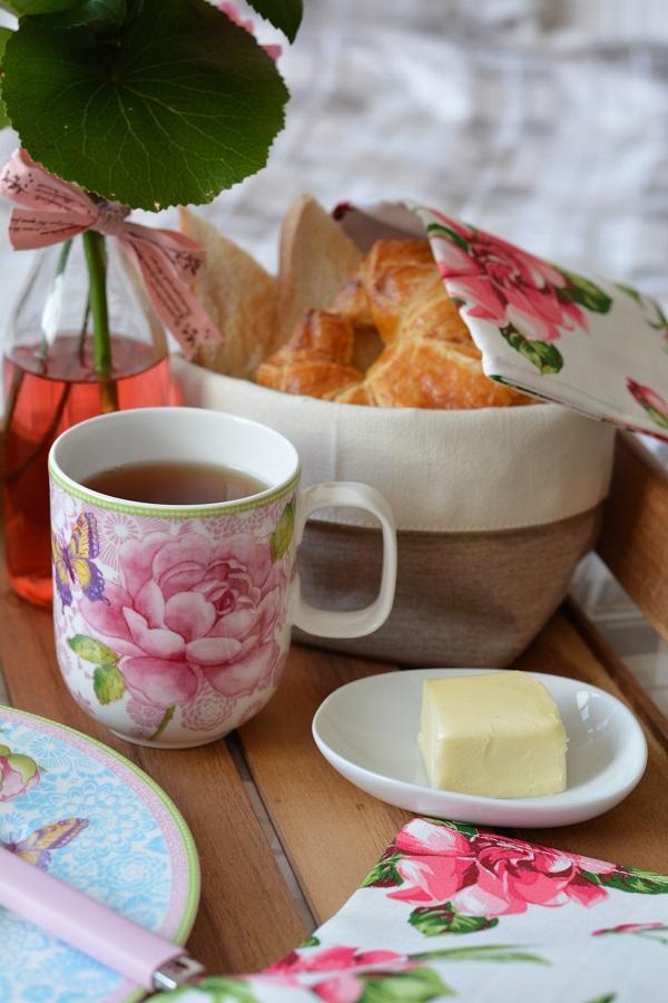 Frühstück im Bett Rose Cottage 8