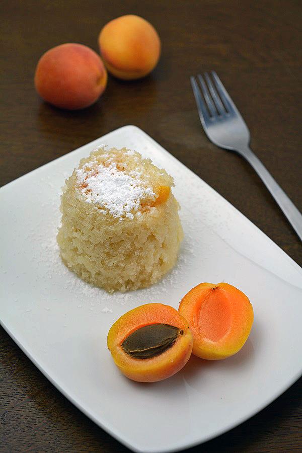 Aprikosen Joghurt Tassenkuchen 1-2