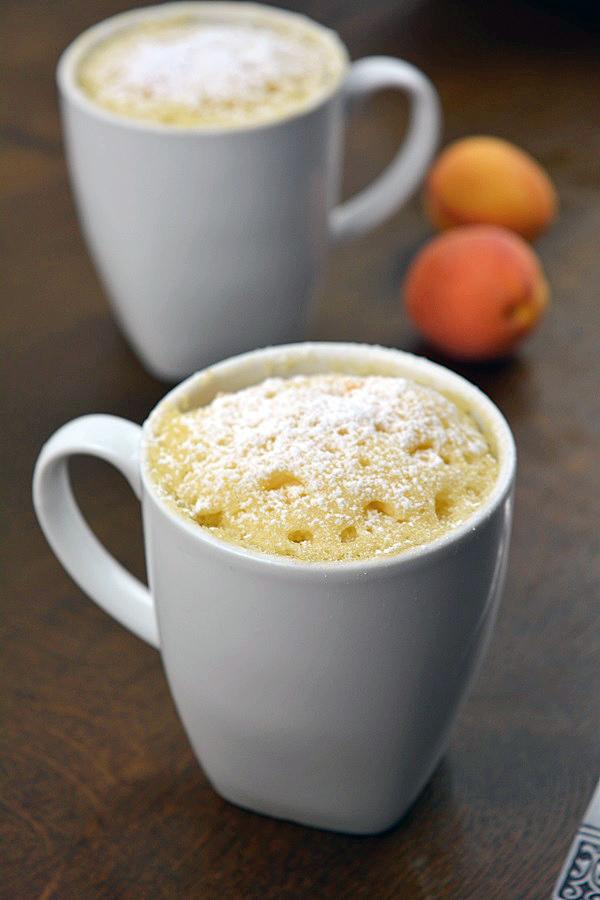 Aprikosen Joghurt Tassenkuchen 4-2