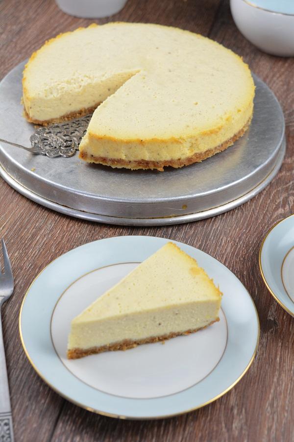 Cheesecake aus dem Schnellkochtopf