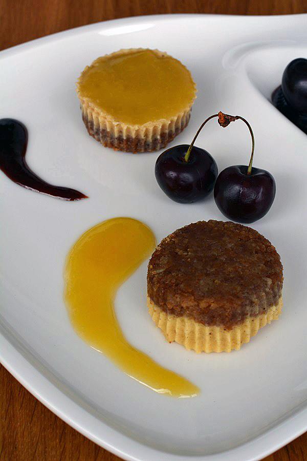 Mini Käsekuchen aus dem Schnellkochtopf