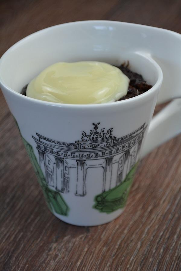Schokolade Minz Tassenkuchen 2