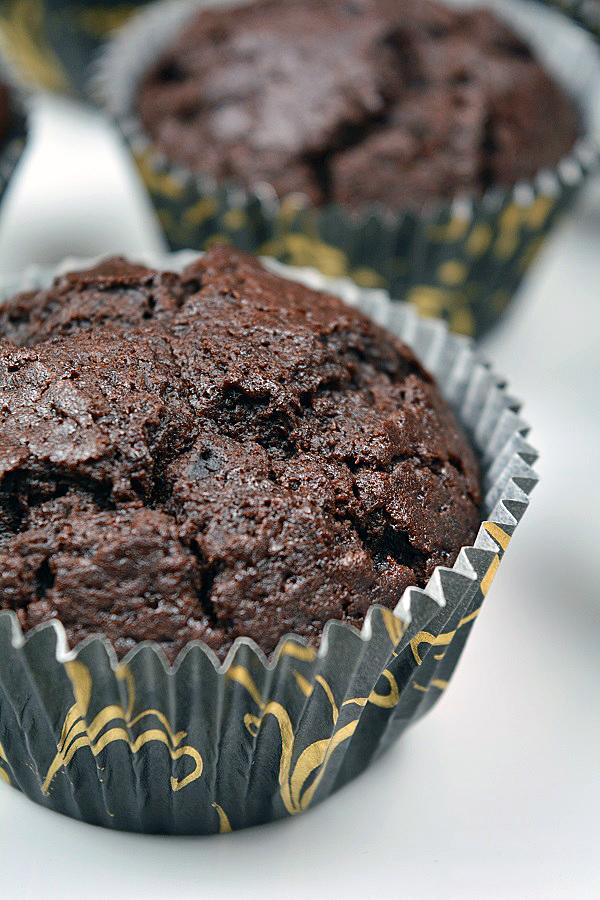 Cola Kirsch Muffins