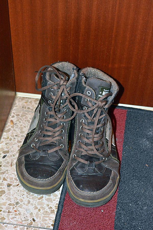 Leere Schuhe am Nikolaustag 1-2