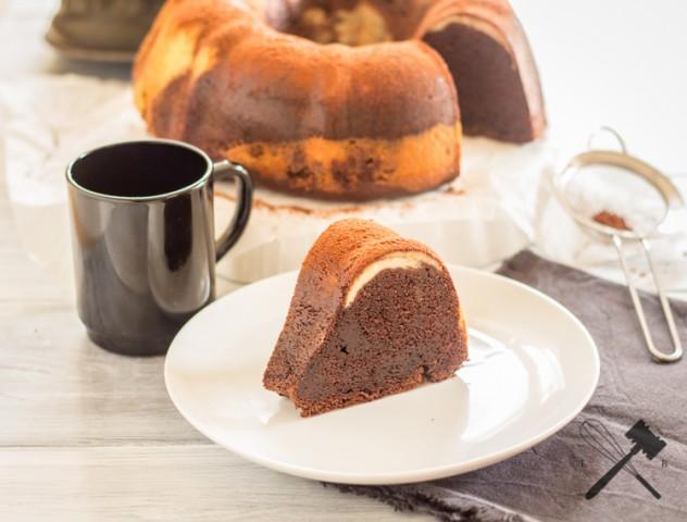 Brownie Cheesecake Guglhupf (3)