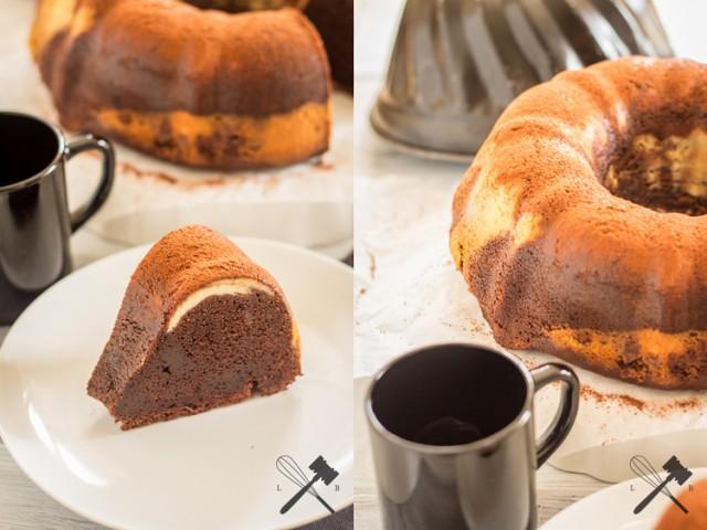 Brownie Cheesecake Guglhupf (7)