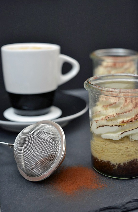 Coffee Cheesecake im Glas 6