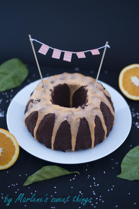 Orangen-Schokoladen Gugelhupf2
