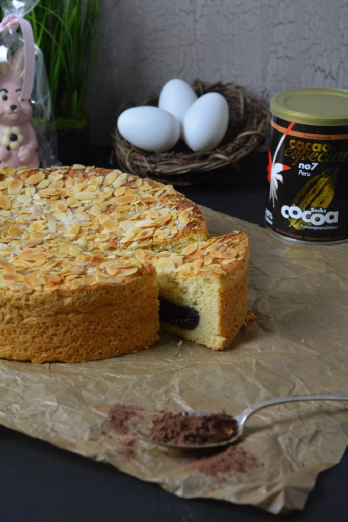 Schoko Plunder Kuchen 1