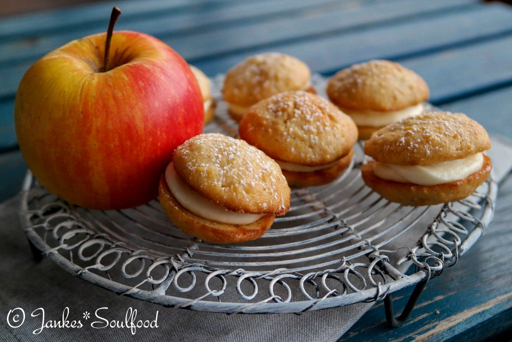 Apfel-Zimt Whoppies - Jankes Soulfood-1-2