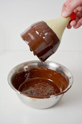 12 - dunkle Schokolade schwenken