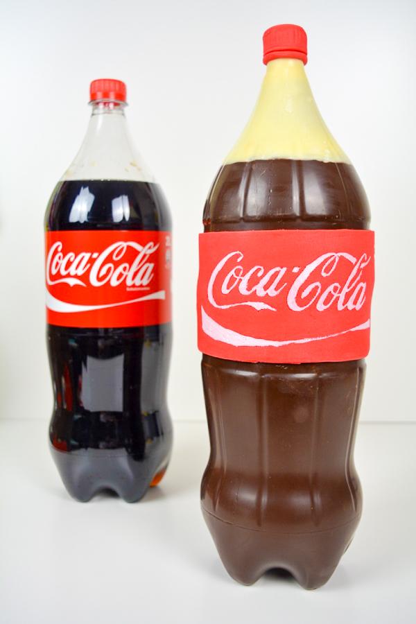 Coca Cola Flaschenkuchen