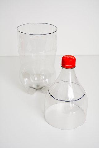 7 - geteilte Flasche