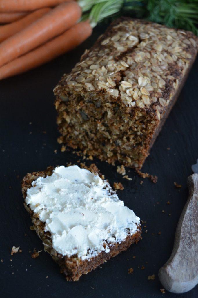 Karotten Walnuss Brot 4