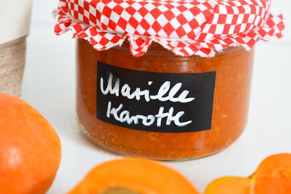 Marillen Karotten Konfituere_