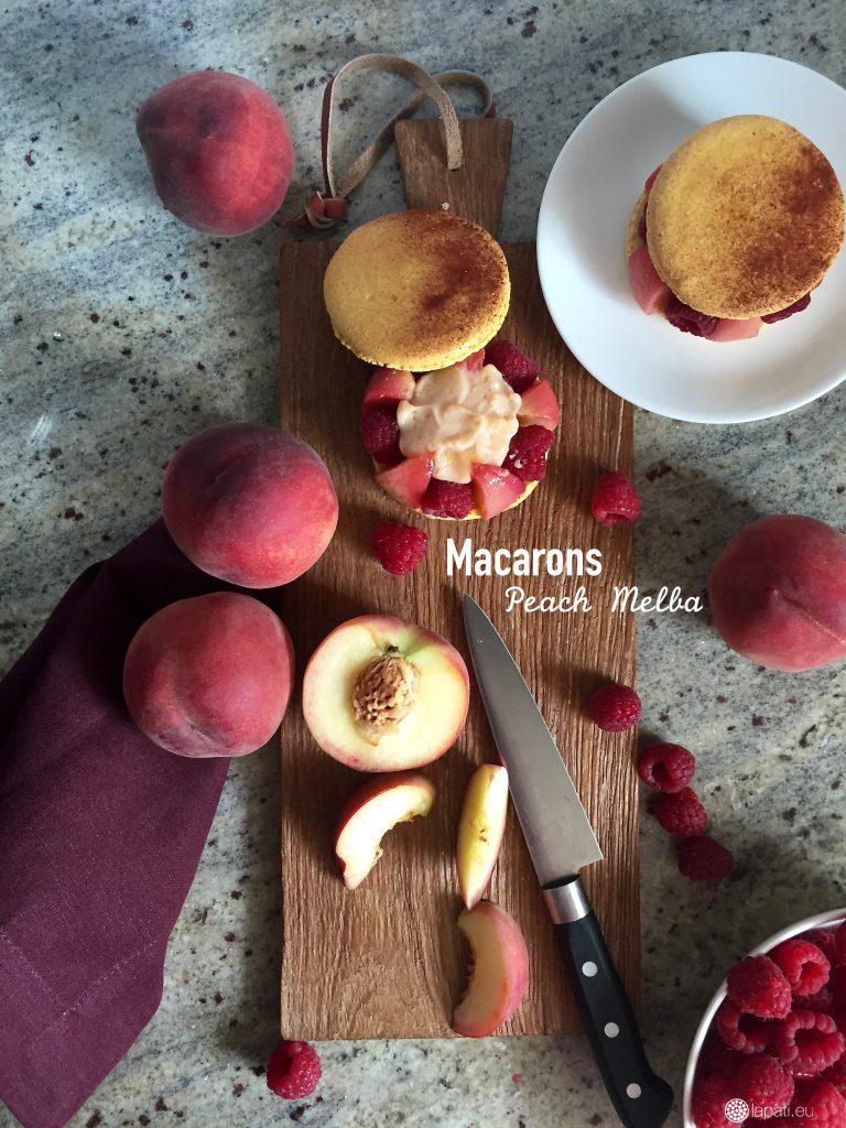 MacaronsPeachMelba.1
