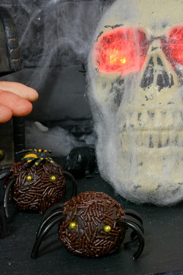 schoko-spinne-halloween