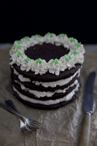 Guiness Layer Cake