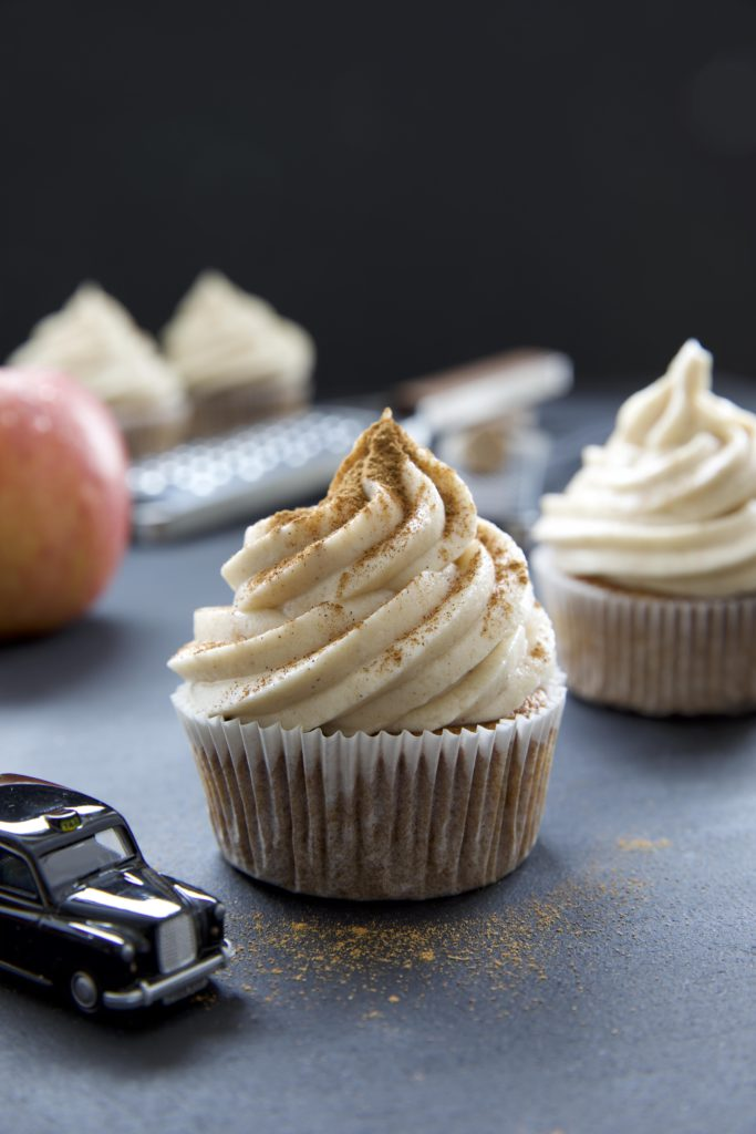 "Apple Cider Cupcakes aus meinem Buch ""Bake and the City"""