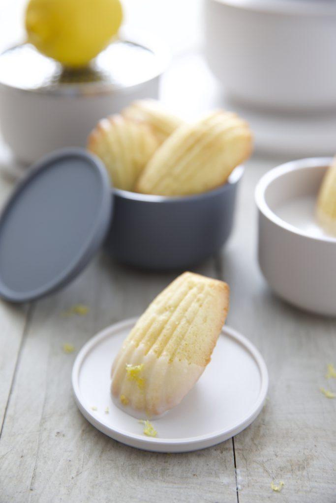 Zitronen Madeleines
