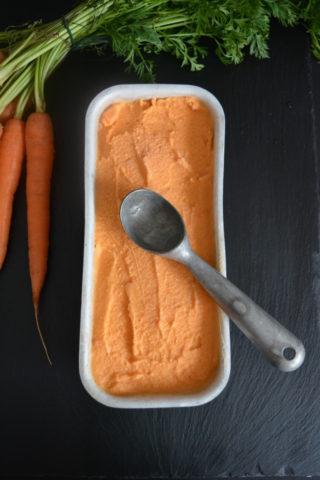 Karotten Eiscreme