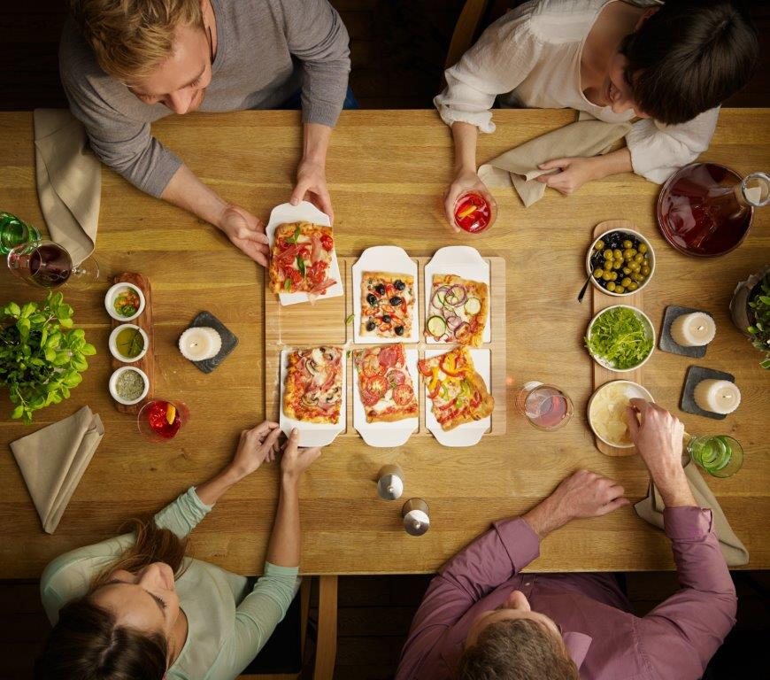 Pizza Party Platte von Villeroy & Boch