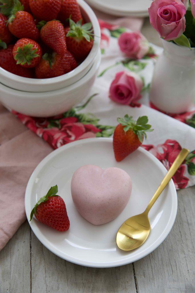 Erdbeer Panna Cotta