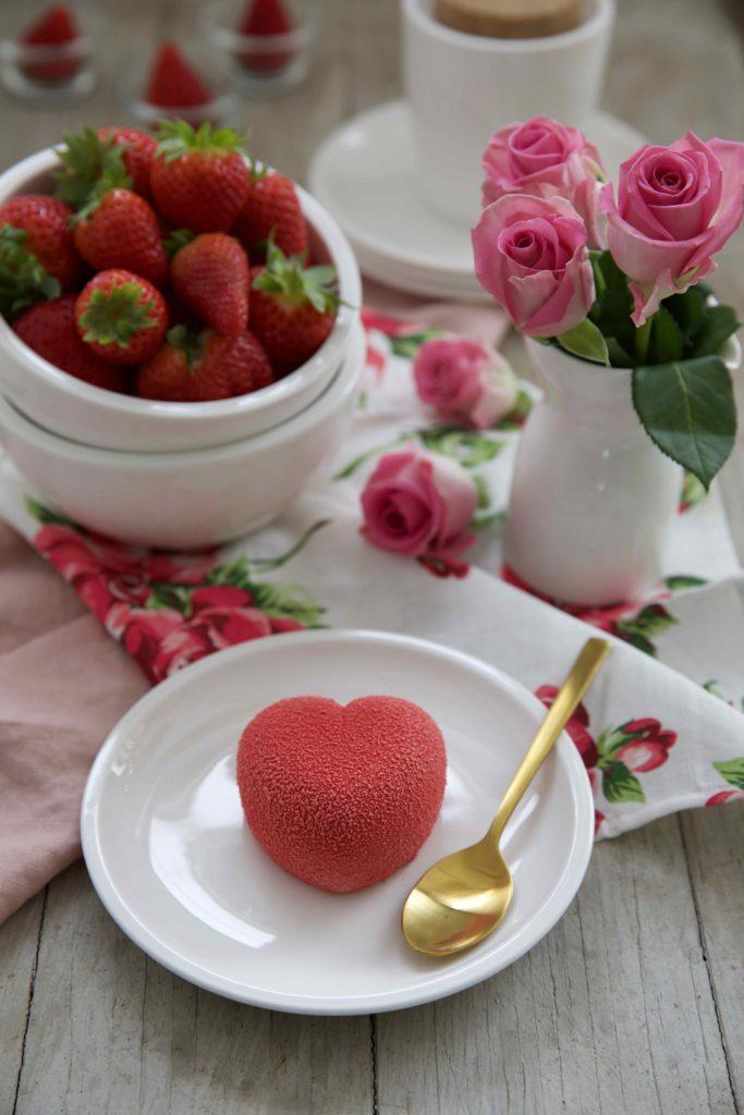 Erdbeer Panna Cotta – herzig und 3D zum Muttertag