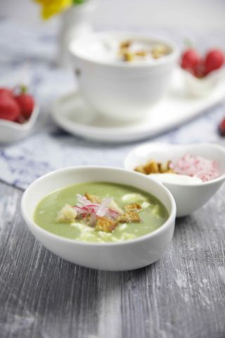 Radieschenblätter Suppe