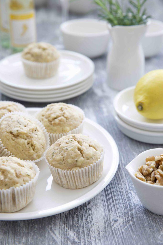 Rosmarin Walnuss Muffins