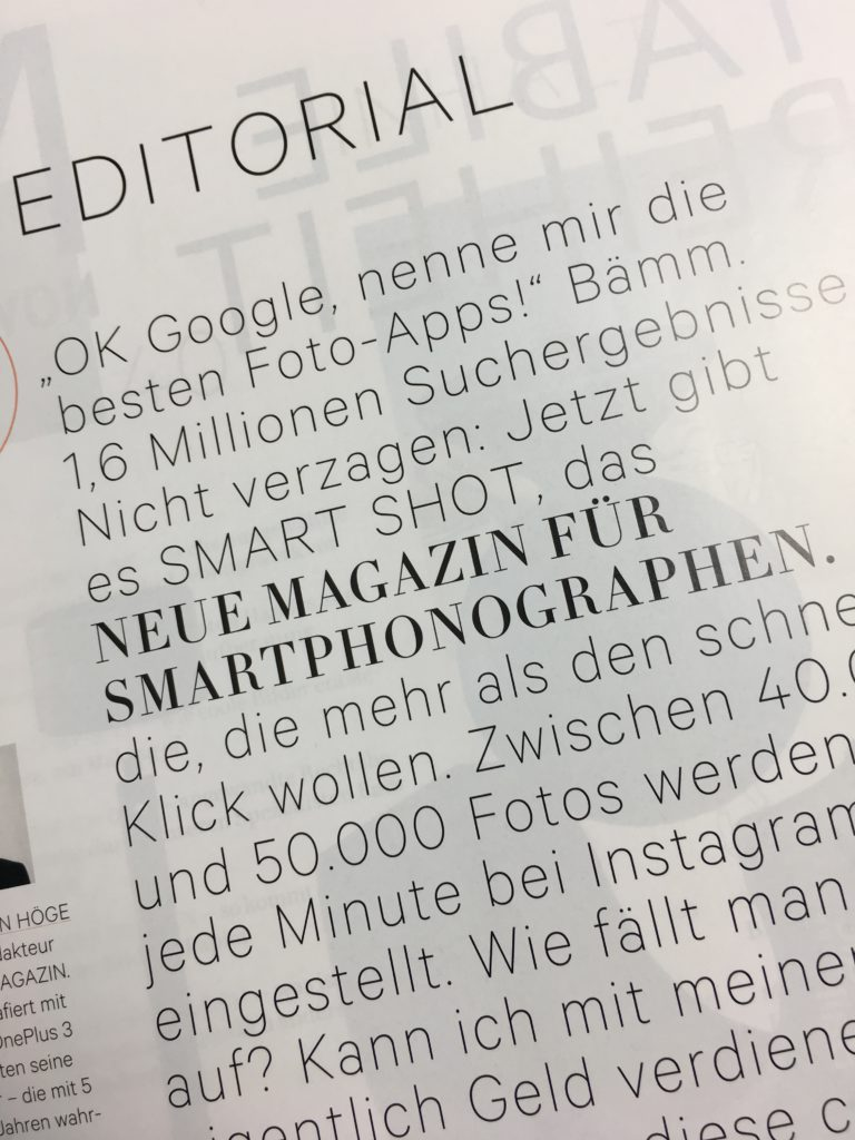 Smart Shot Magazin