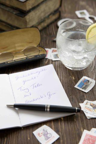 Tiny Tales mit Hedrick's Gin