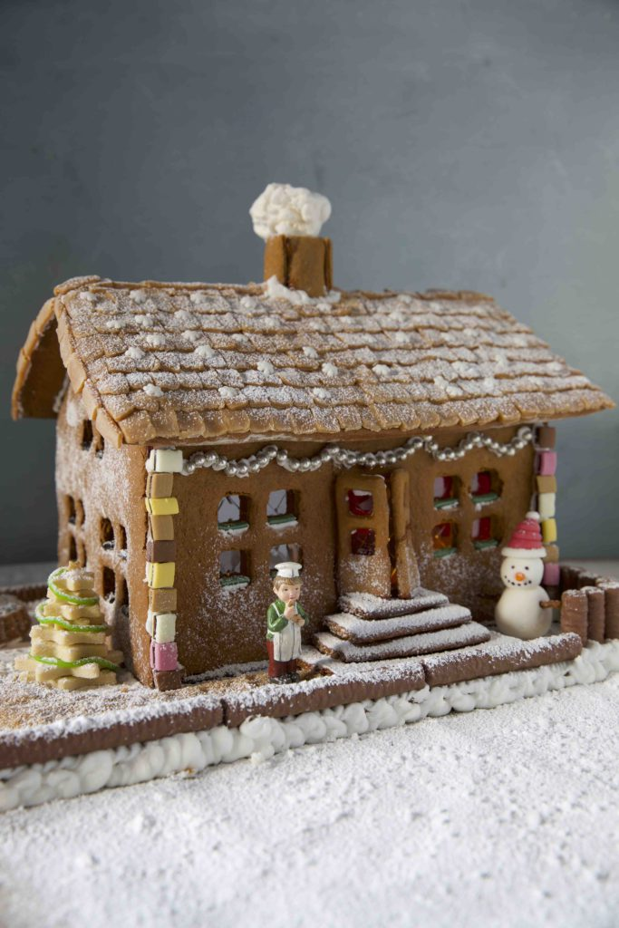 Mein Lebkuchenhaus mit Diamant Zucker