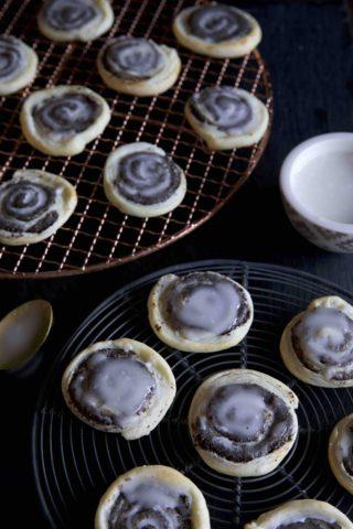 Rezept für Mohnstriezel Cookies