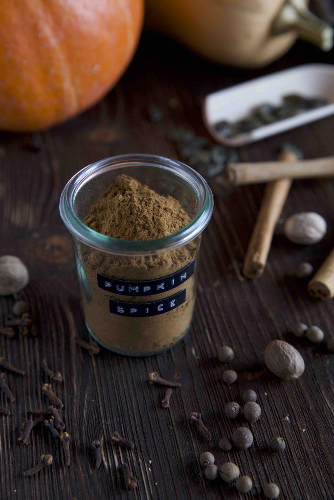 Gewürzmischung für Pumpkin Spice