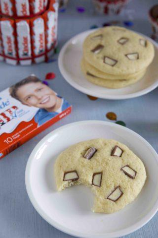 Kekse Mit Kinder Schokolade Kekse Mit Ferrero Kinder Schokolade