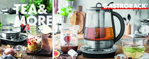 Design Tea and More Advanced Gastroback