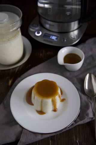 Grießpudding mit Karamellsoße - Gastroback
