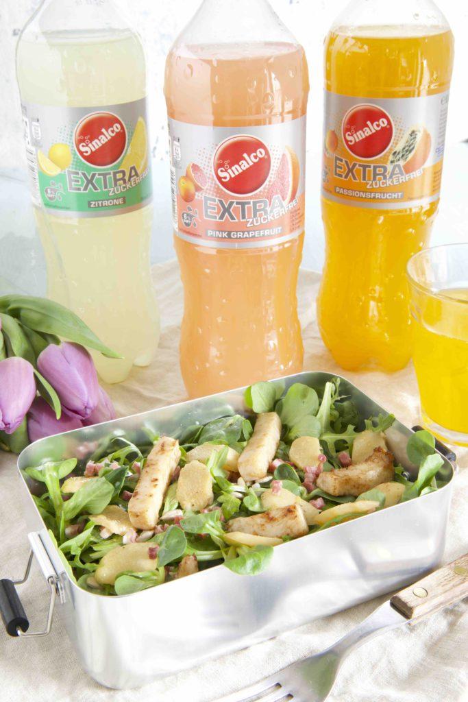 Frühlingssalat mit Spargel und Sinalco Extra